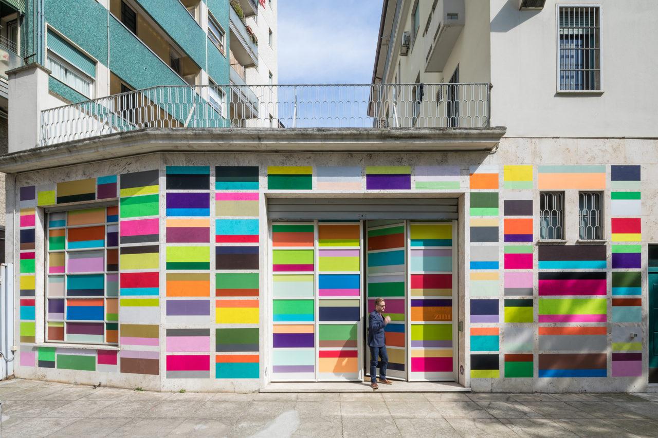 10_Installation, Milan 2017_bw